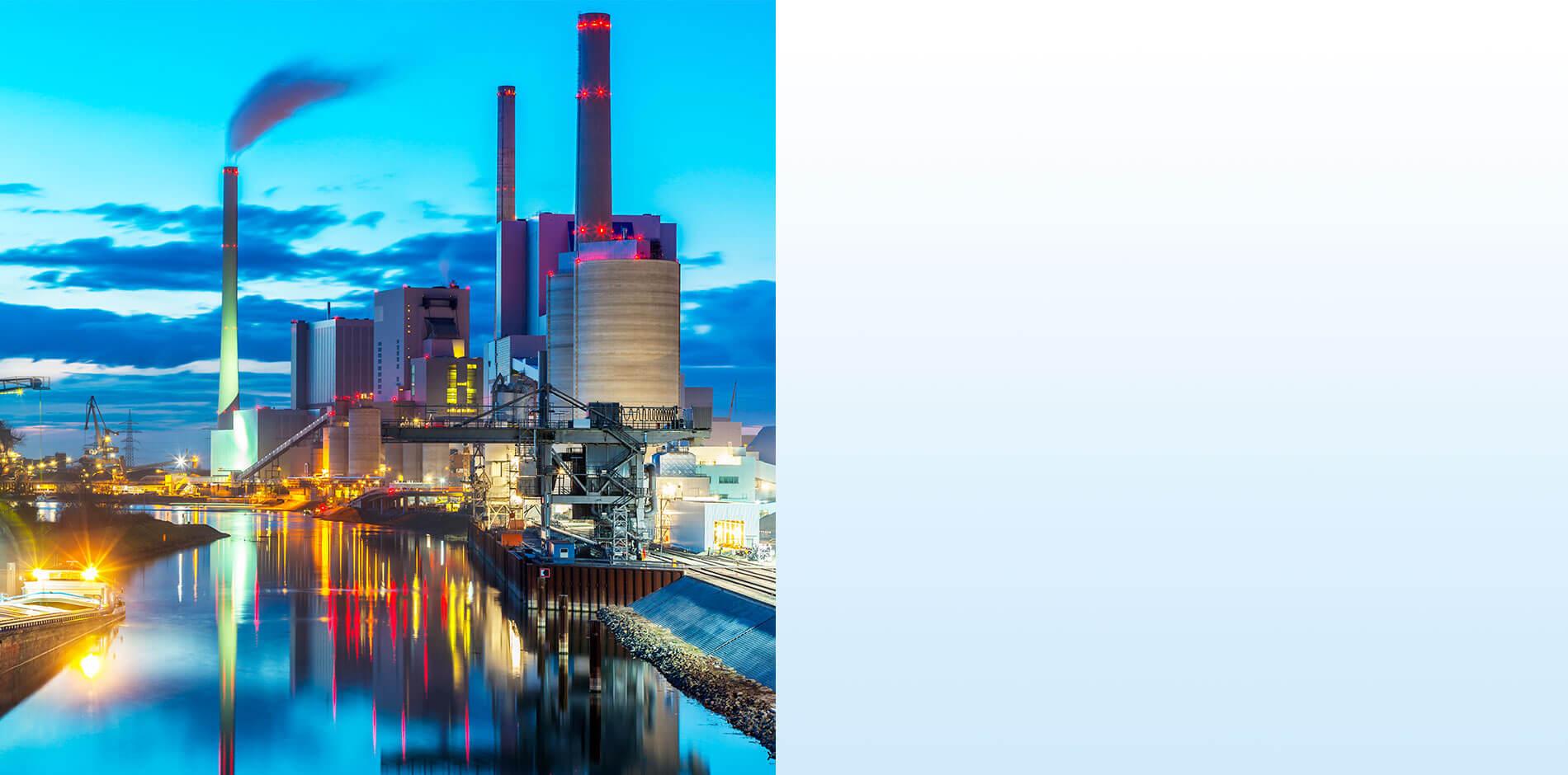 Efficacité en termes d'énergie et d'eau : centrales électriques et industrie