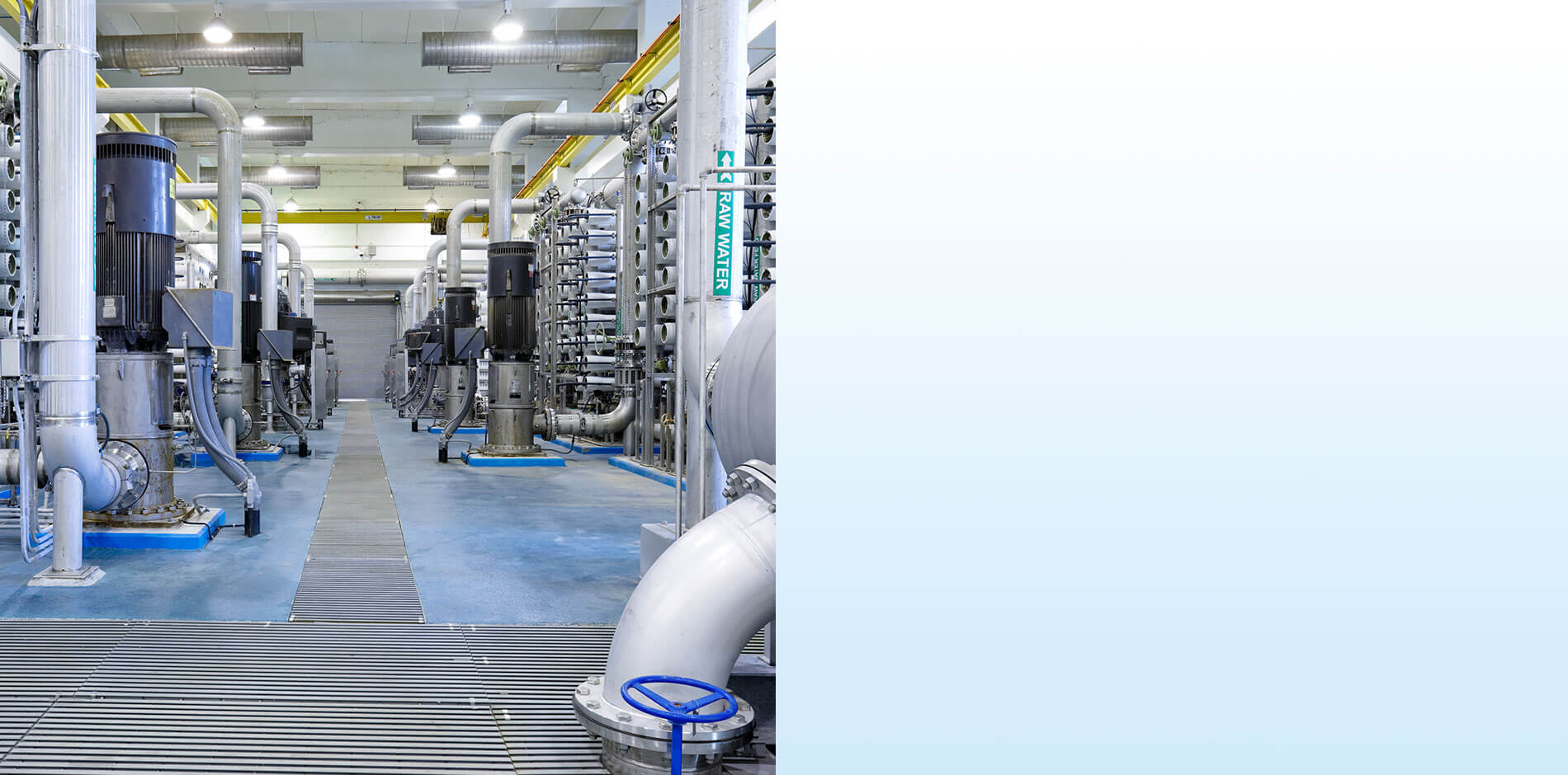 Efficacité en termes d'énergie et d'eau : dessalement d'eau de mer
